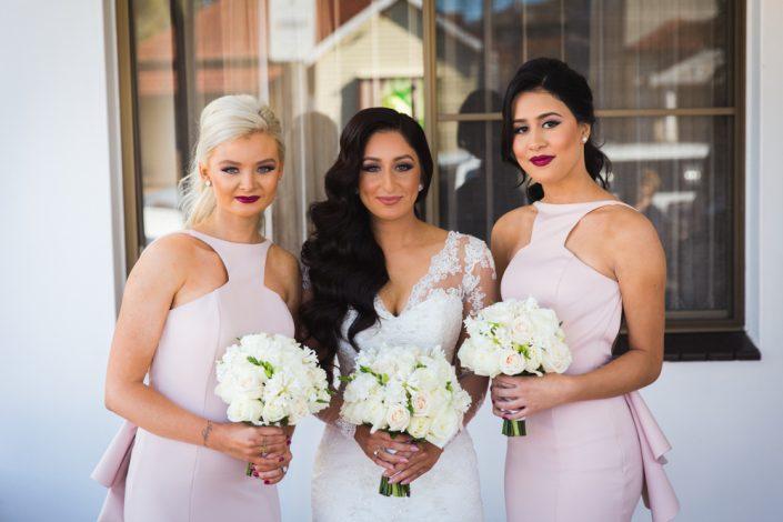 Family photos at wedding on the Sunshine Coast