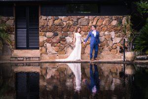 Bride and groom wedding photograph in Brisbane