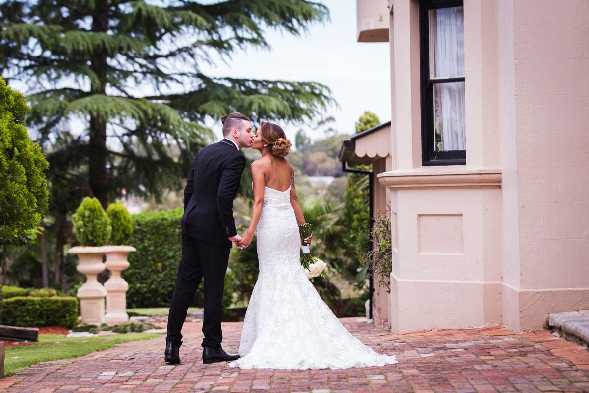 Posing for wedding photographs, sydney wedding photography
