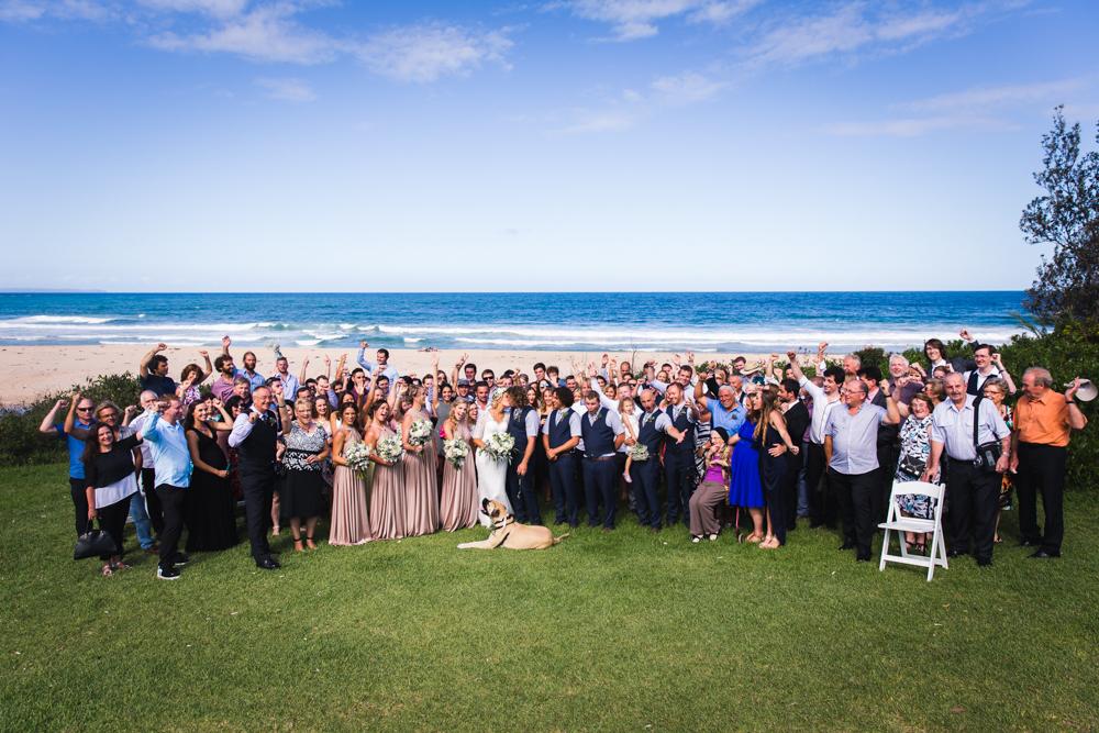 wedding photo on the gold coast