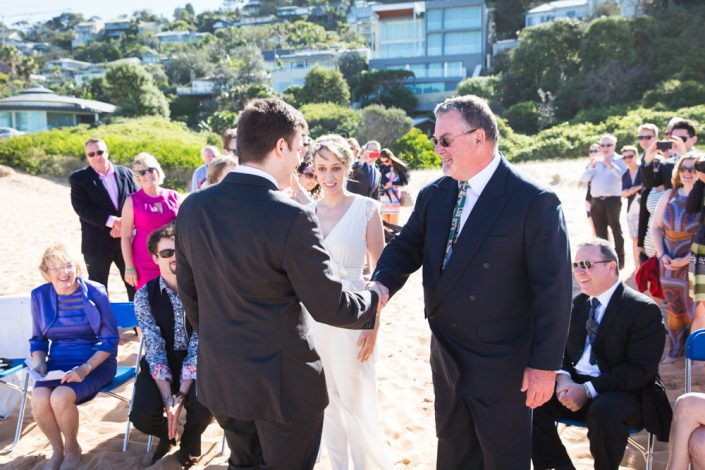 gold coast wedding ceremony