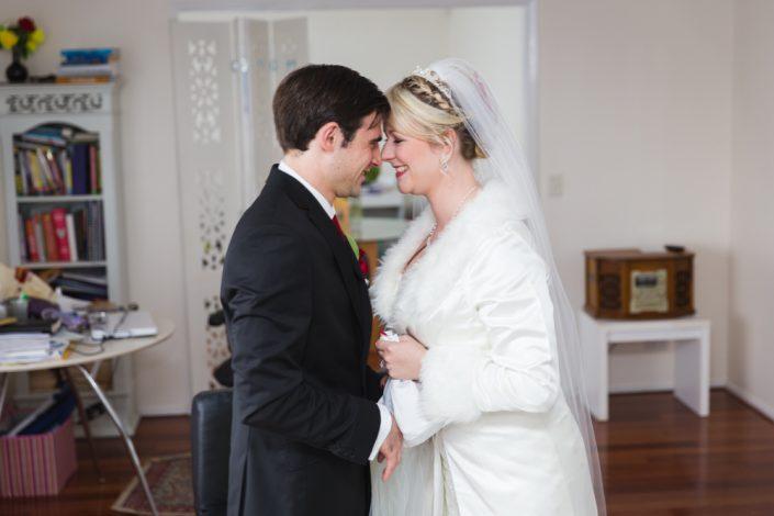 first look wedding in brisbane