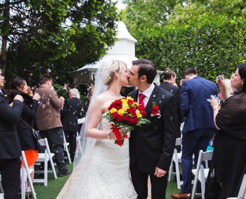 group wedding photo in byron bay