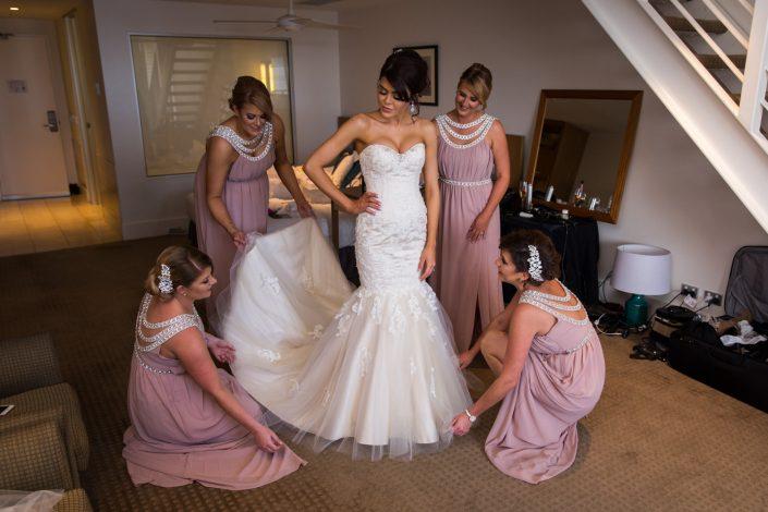 Dunbar House Bridal Preparation
