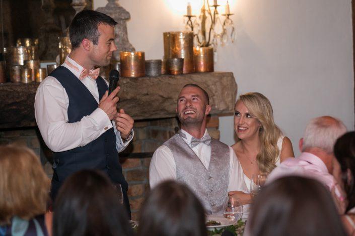 reception photograph at brisbane wedding