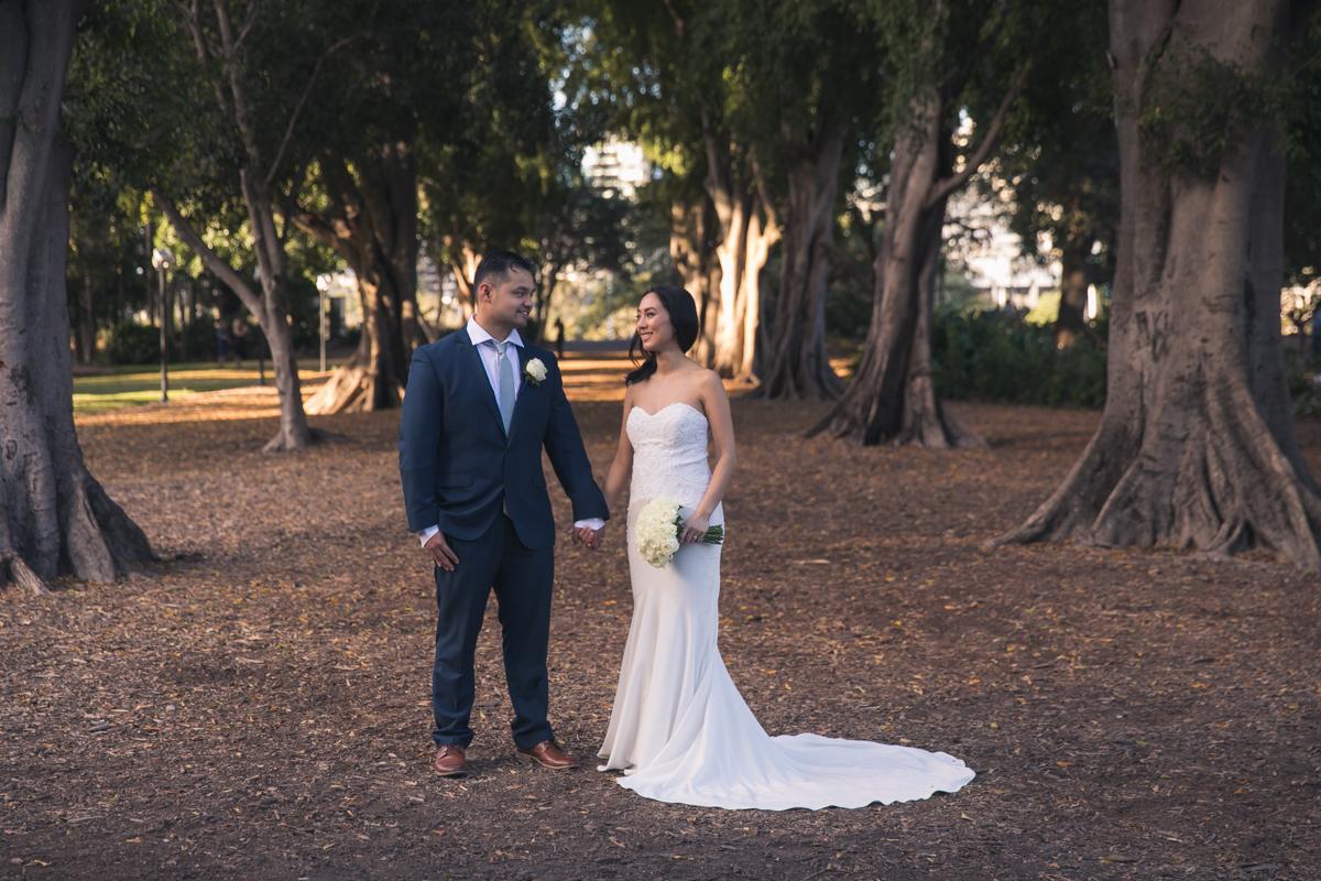 Brisbane botanical gardens wedding