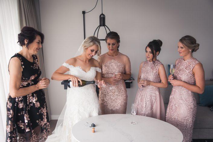 bridal prep in Sydney