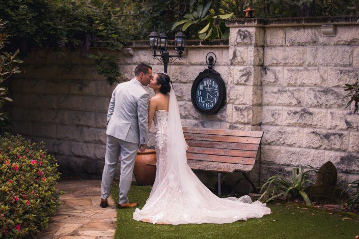 Garden wedding on the Gold Coast