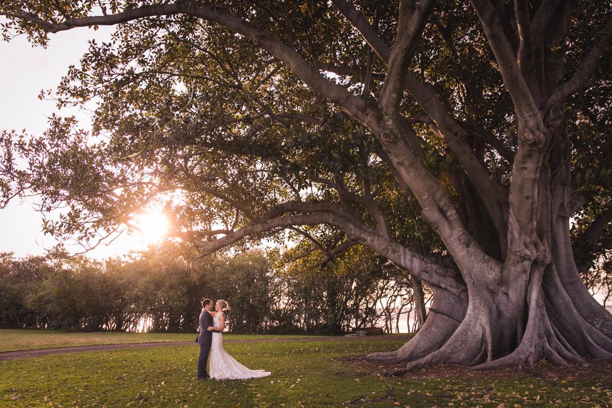 beautiful wedding photo in Brisbane