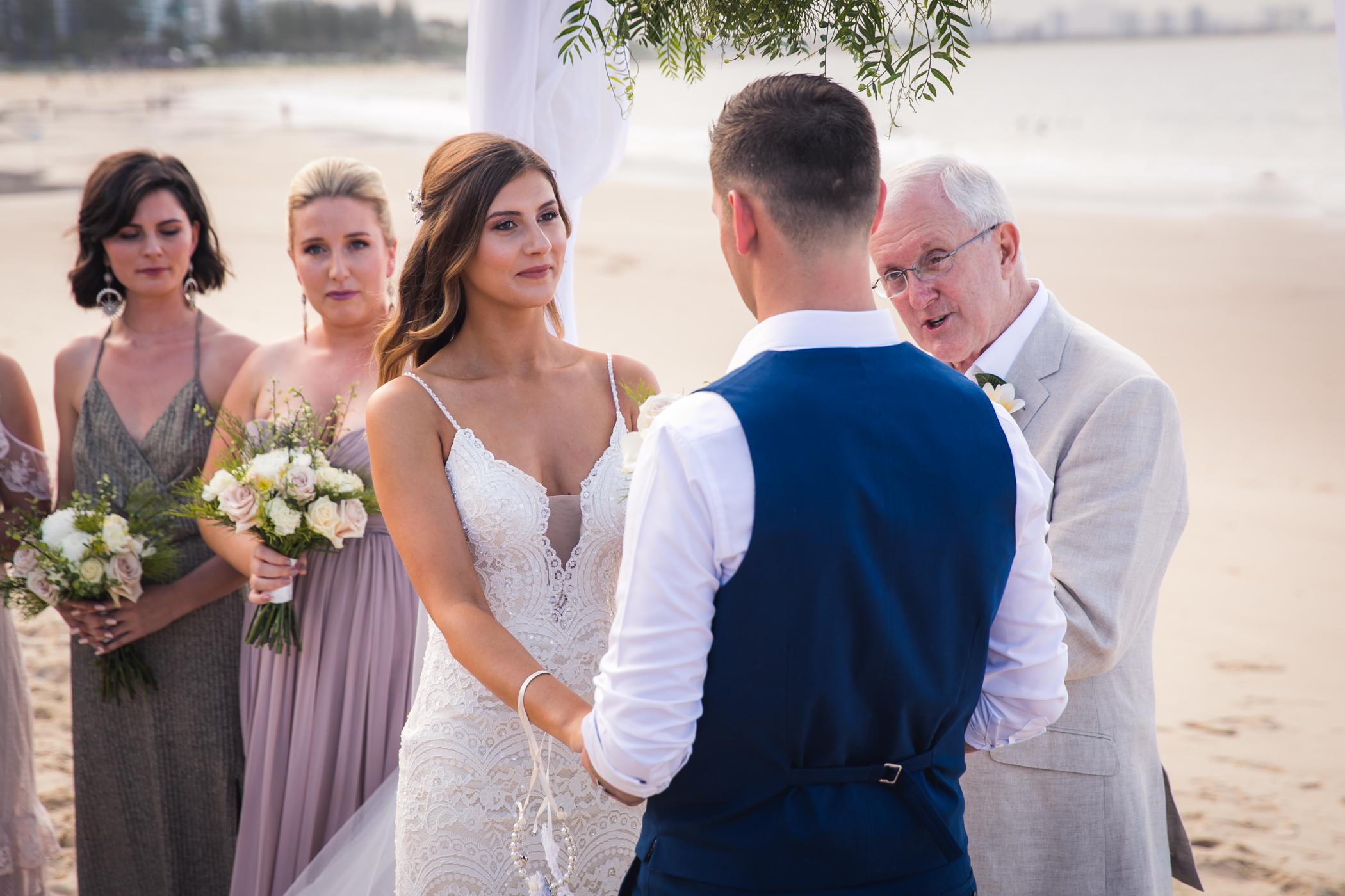 wedding photo of ceremony