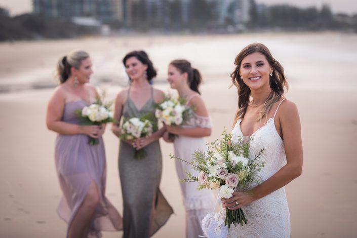 classic portrait of bride
