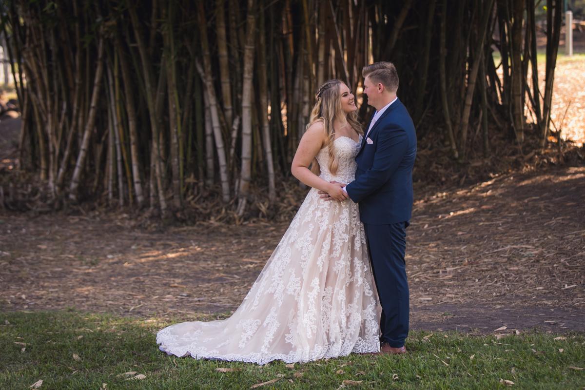 bride and groom location shoot