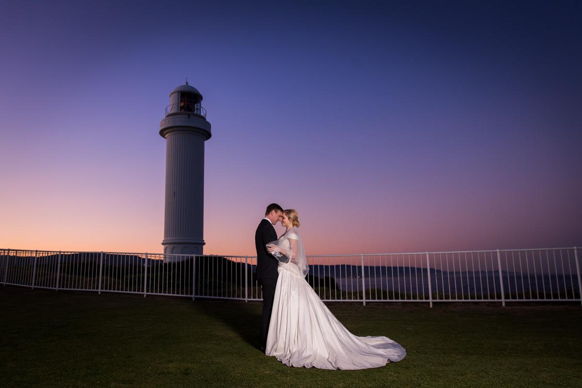 romantic wedding photo in Brisbane