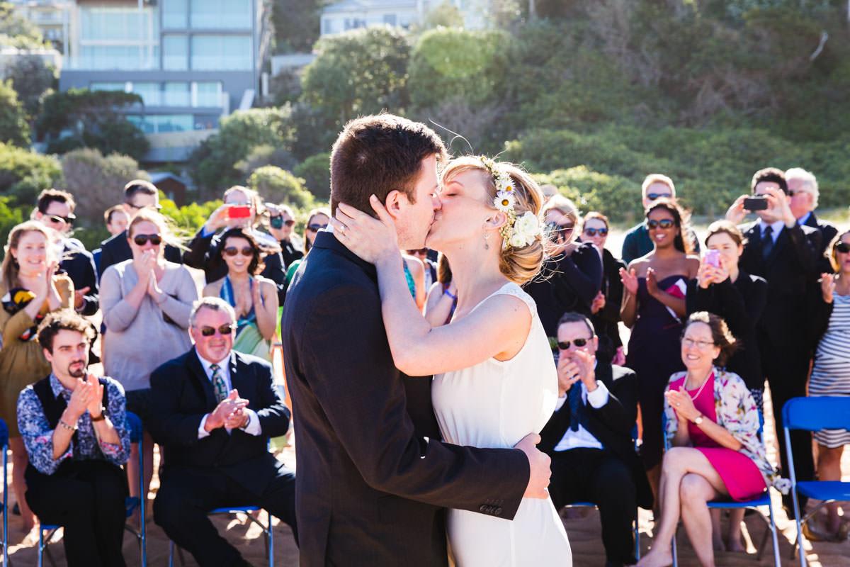 beach wedding on the gold coast