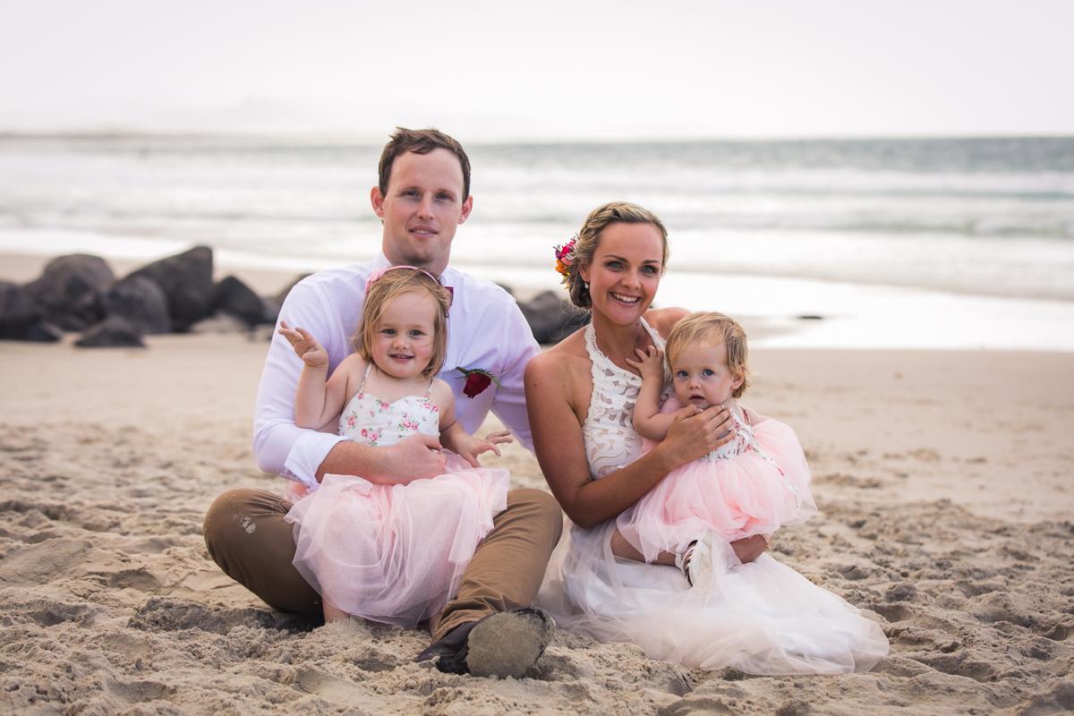Wedding photographer in Byron Bay