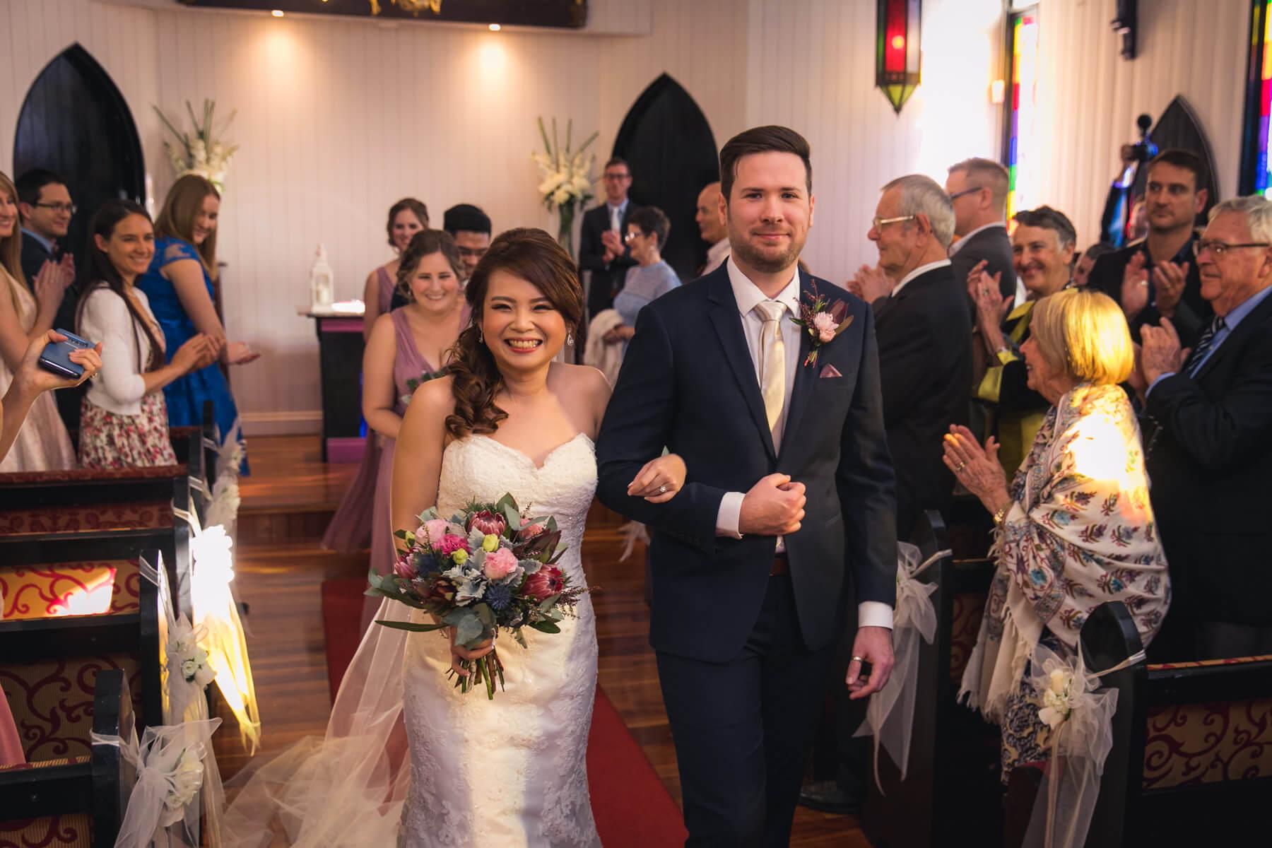 church wedding in Brisbane
