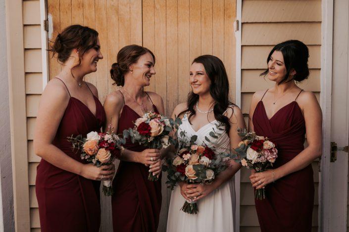 Bridal preparation for Brisbane wedding
