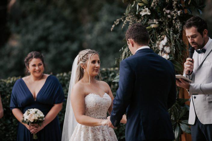 Romantic ceremony on the Gold Coast