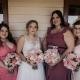 bridesmaids portrait before wedding