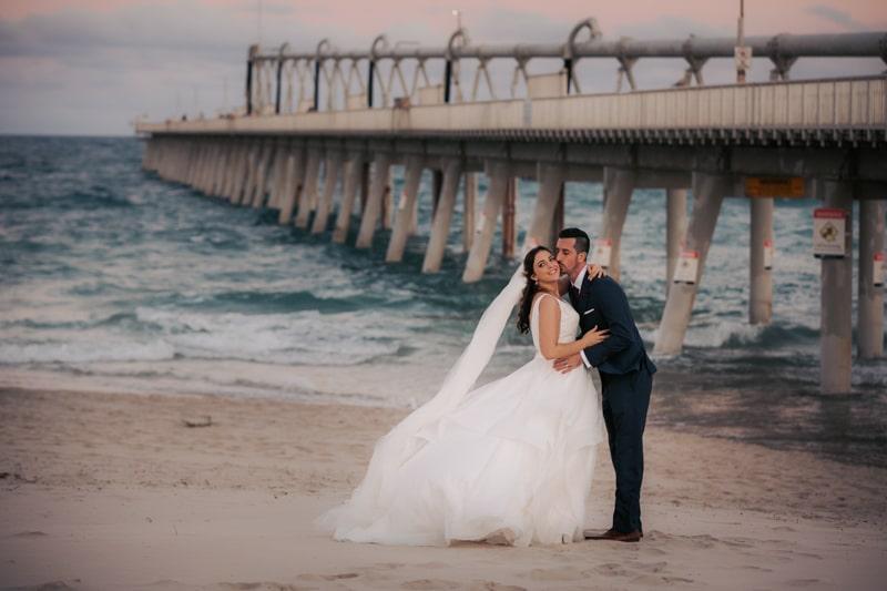 Main beach wedding photographer